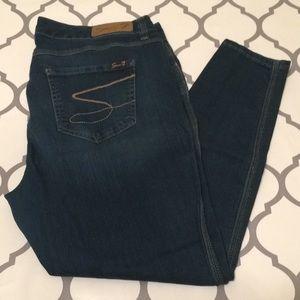 seven 7 legging jegging Jean size 18